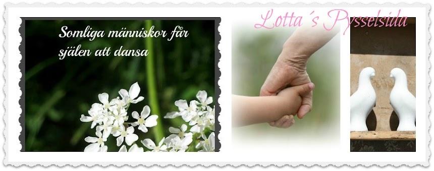 Lotta´s Pysselsida