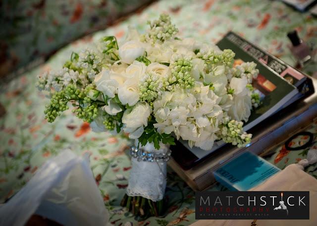 Bride's Bouquet Canfield Casino Wedding Saratoga