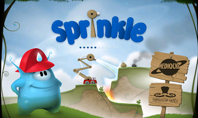 Sprinkle: Opening screen
