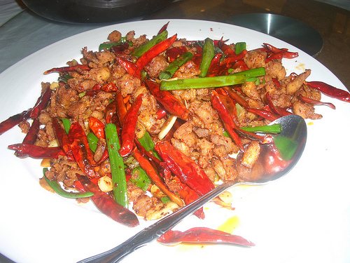 Stir-fried Spicy Chicken