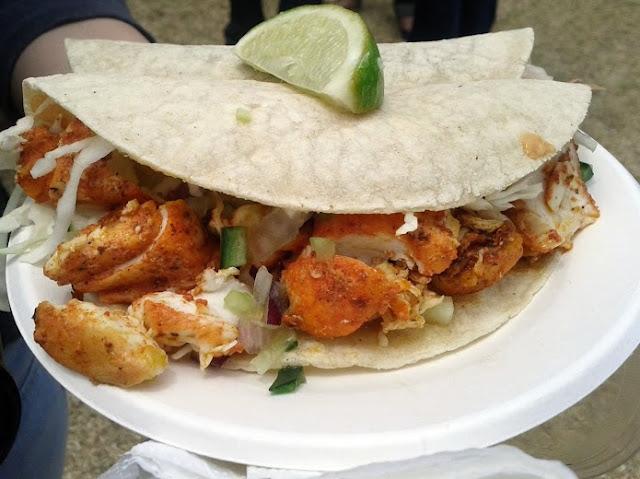 Tacos from Mamasita