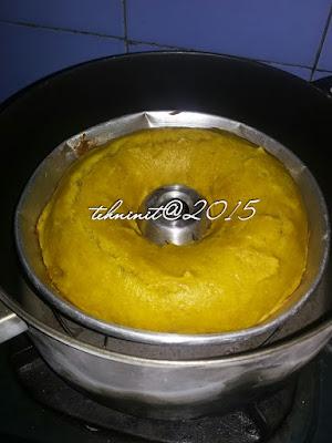 cake labu kuning no mixer