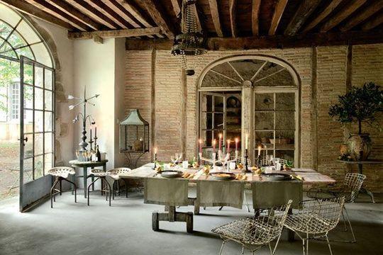 S tia chateau de bugnein - Deco salle a manger ancienne ...