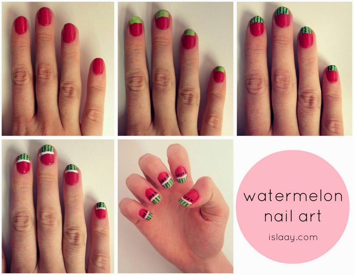 Nail Art Step By