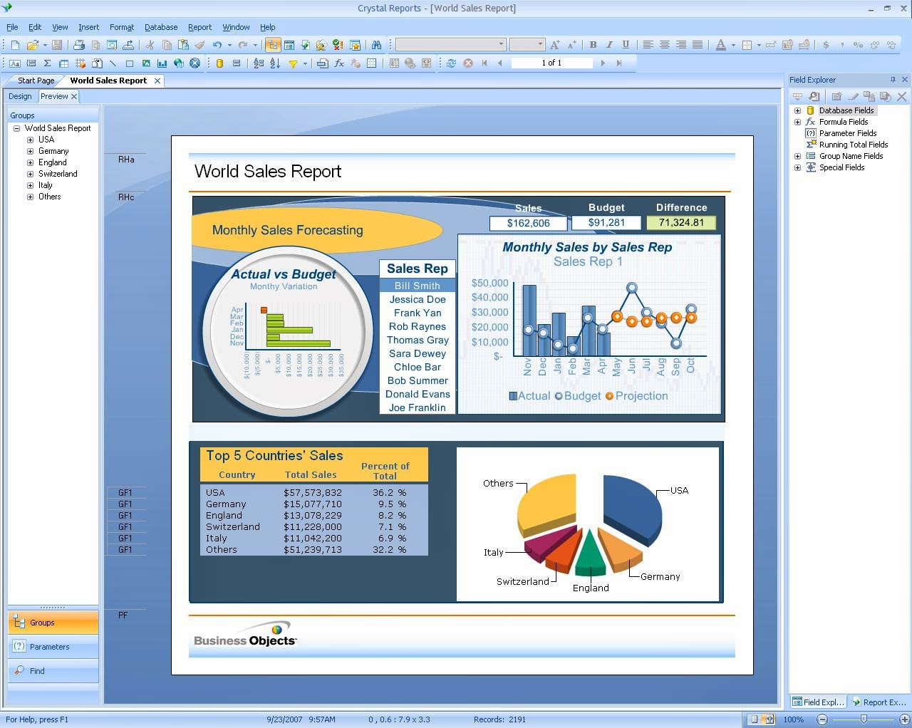crystal report writer books For those of you who use crystal reports on a regular basis and are  i don't see  any 'excellent free reports tutorial' just a book offer with a few  however need  to declare that this write-up pretty obligated myself to have a.