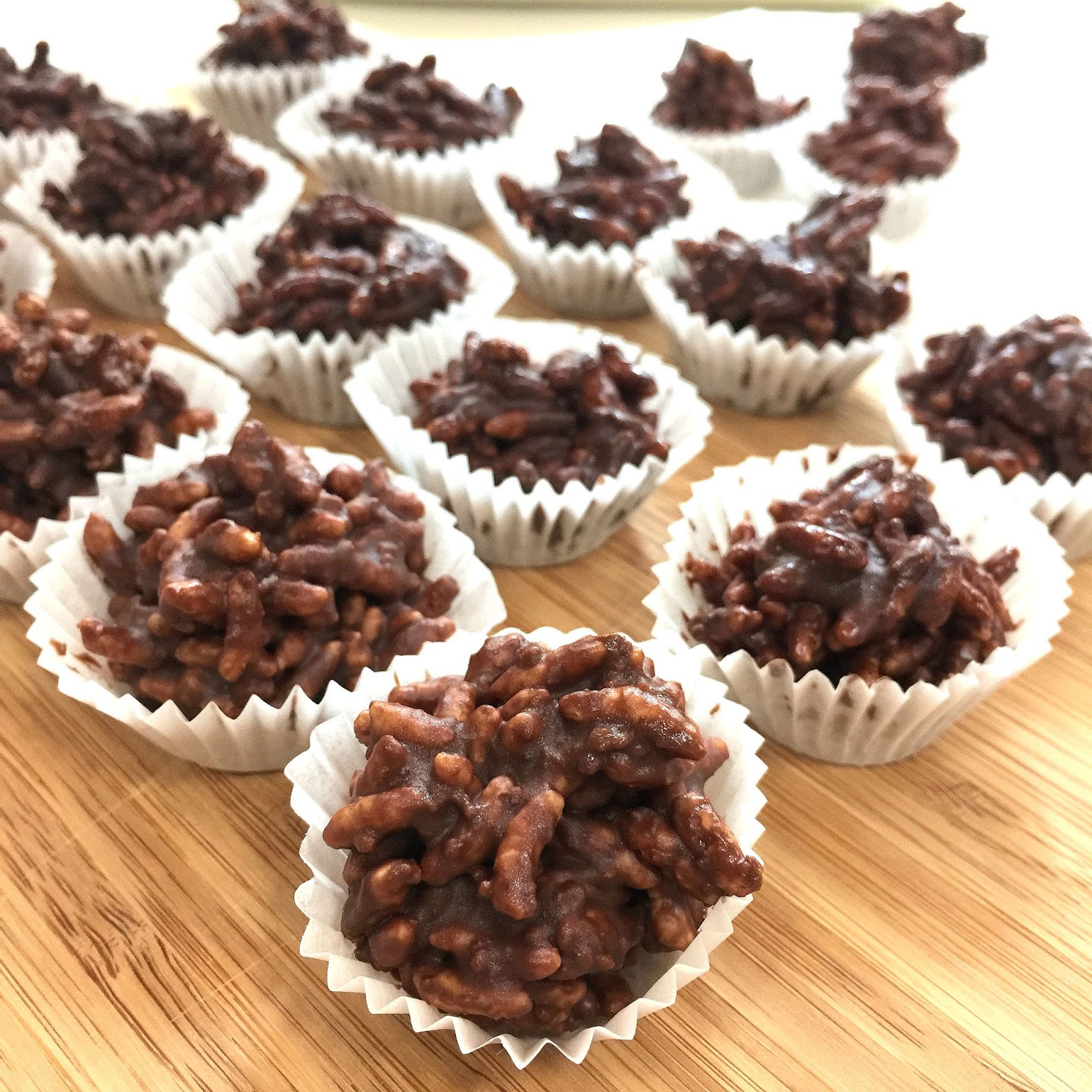 Chocolate Speculoos Rice Crispies