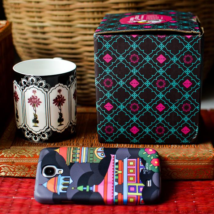 India Circus by Krsna Mehta Samsung Phone Covers Coffee Mugs