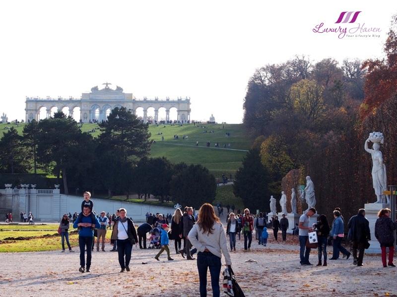 vienna schonbrunn palace gloriette