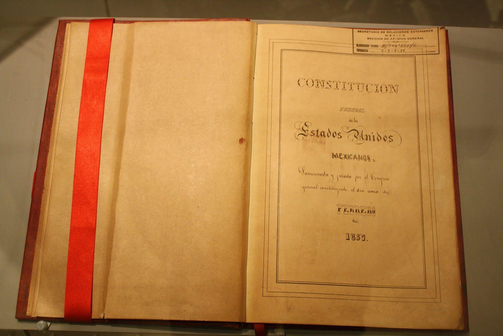 La Constitución Federal de los Estados Unidos Mexicanos de 1857 fue ...