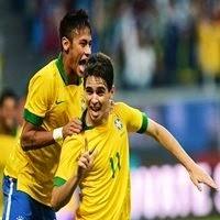 Gol de Oscar contra a Croácia, onde o Brasil venceu por 3x1