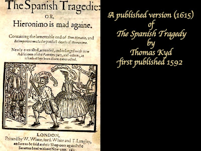 spanish tragedy iambic pentameter Thomas kyd (1558-1594)– the spanish tragedy – c 1587most popular play of the 1500's john lyly (c 1554-1606 iambic pentameter, no rhyme.