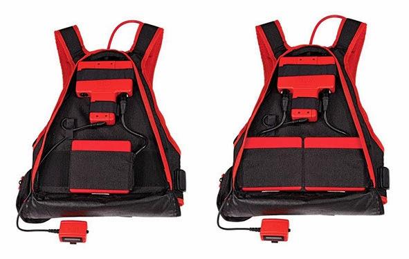 FELCO Powerpack hátizsák egy- illetve két akkumulátorral