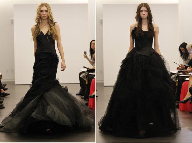 Vera Wang goes Rebelliously Black ~ The Rebellious Brides