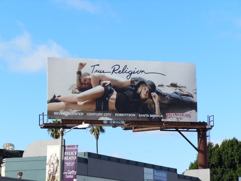 True Religion Jeans billboard 2011