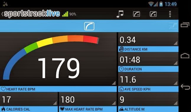 SportsTracker PRO android apk - Screenshoot