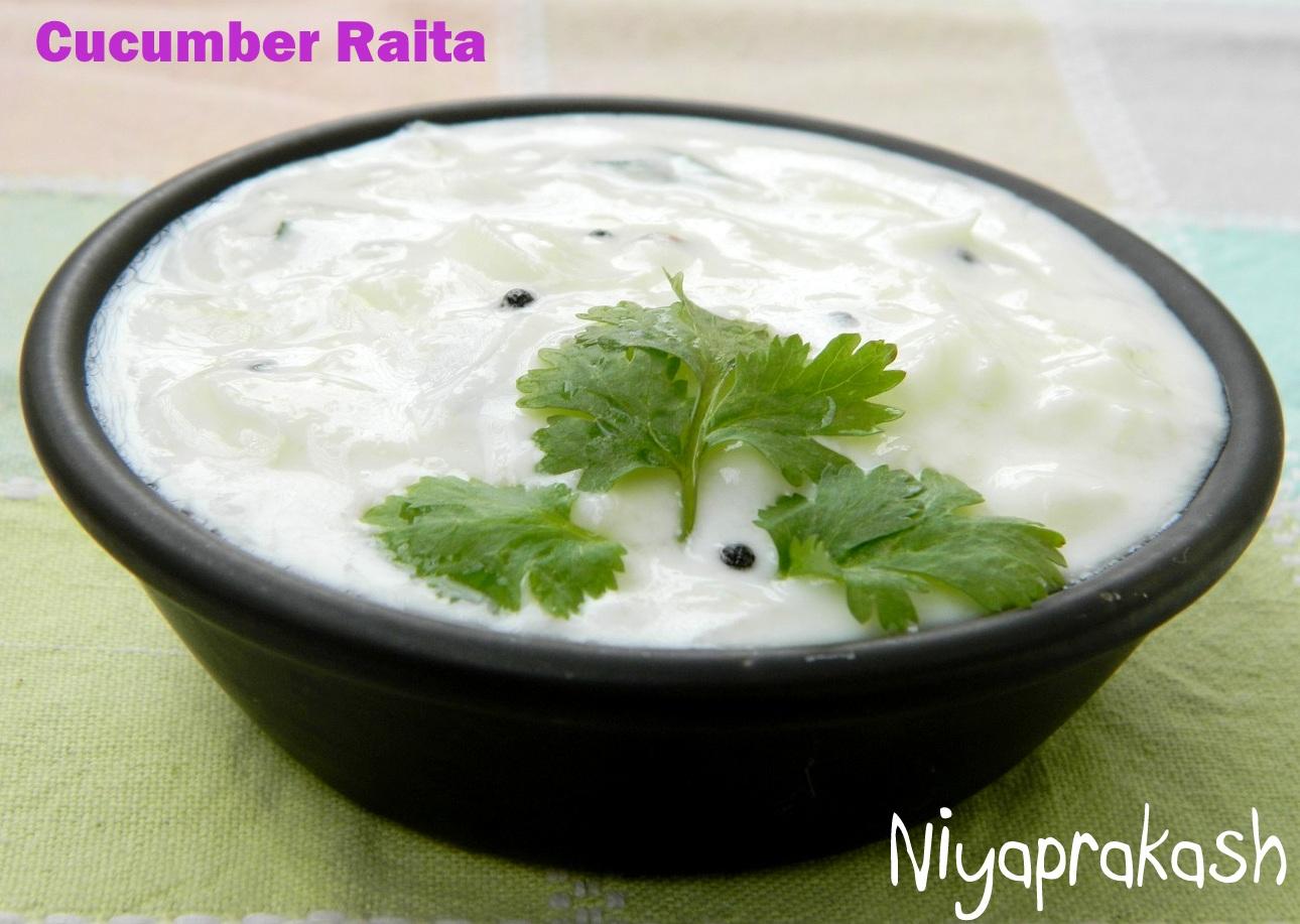 Niya's World: Cucumber Raita