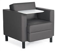 Citi Tablet Arm Lounge Chair