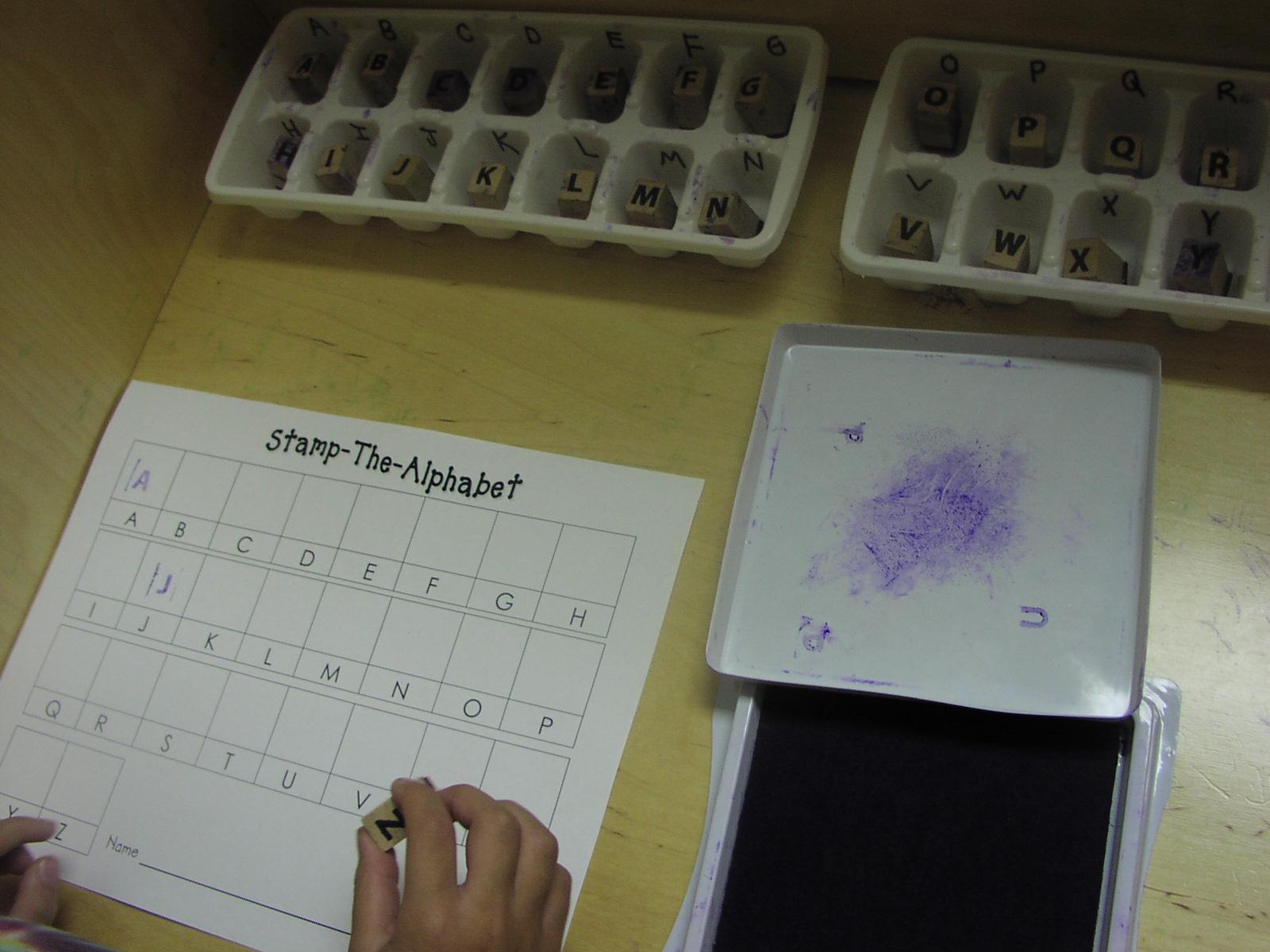 Keen on kindergarten alphabet sight word practice sciox Image collections