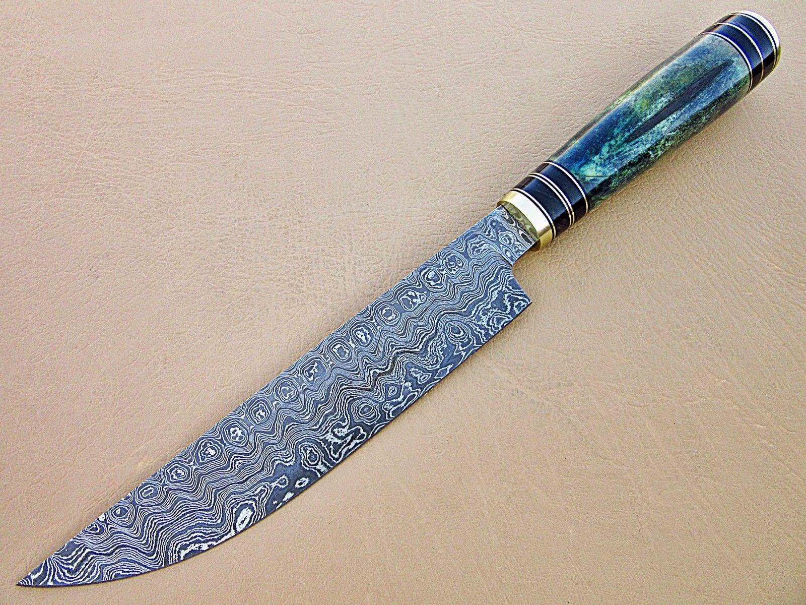 Knife Store Custom Made Handmade Damascus Steel Fixed