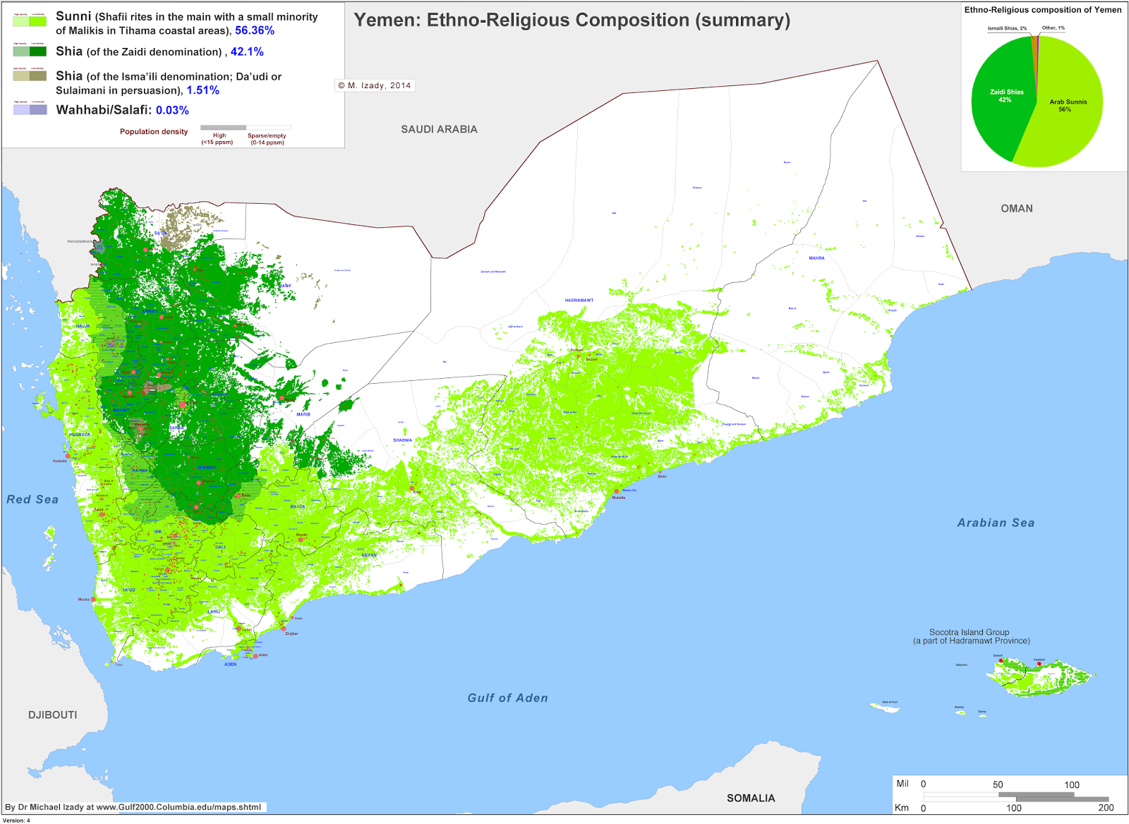 FOGG OF WAR Yemen Rounds Out Middle Eastern Religious Fighting In - World religion map wikipedia