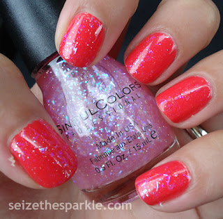 SinfulColors Pink Ansen over Coral Riff