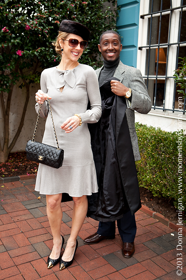 Giorgio Armani dress from summerbird, Banana Republic Trench, Chanel Purse, Tory Burch Quilted Cap Toe Pumps, Mink Hat, Meredith Jackson Jewelry Designs, Tiffany Interlocking Circles Ring, Diamonds Direct Bands, Blinde Sunglasses, the Queen City Style, Moments by Donna, Donna Jernigant, Jason Locust, Ralph Lauren, The Villa Charlotte, NC