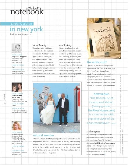 jacqueline weppner merci new york the knot spring summer 2011 issue