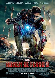 Pôster nacional e crítica de HOMEM DE FERRO 3 (Iron Man 3)