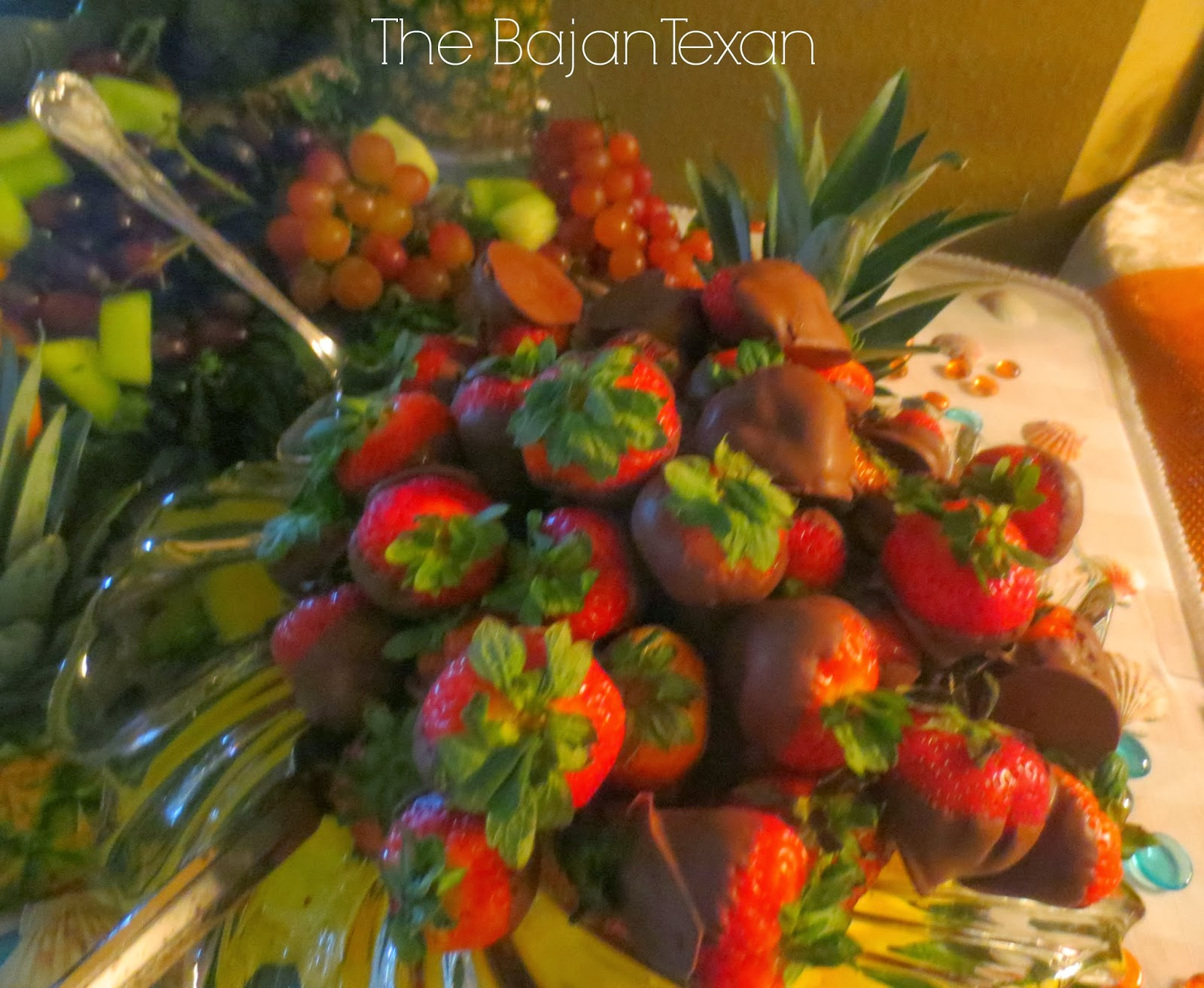 A Tropical DIY Wedding Shower – The Bajan Texan