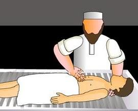 cara memandikan jenazah mayit dalam islam