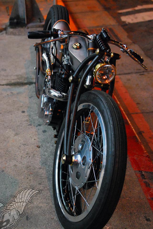 yamaha sr400 bobber from taiwan | mark huang