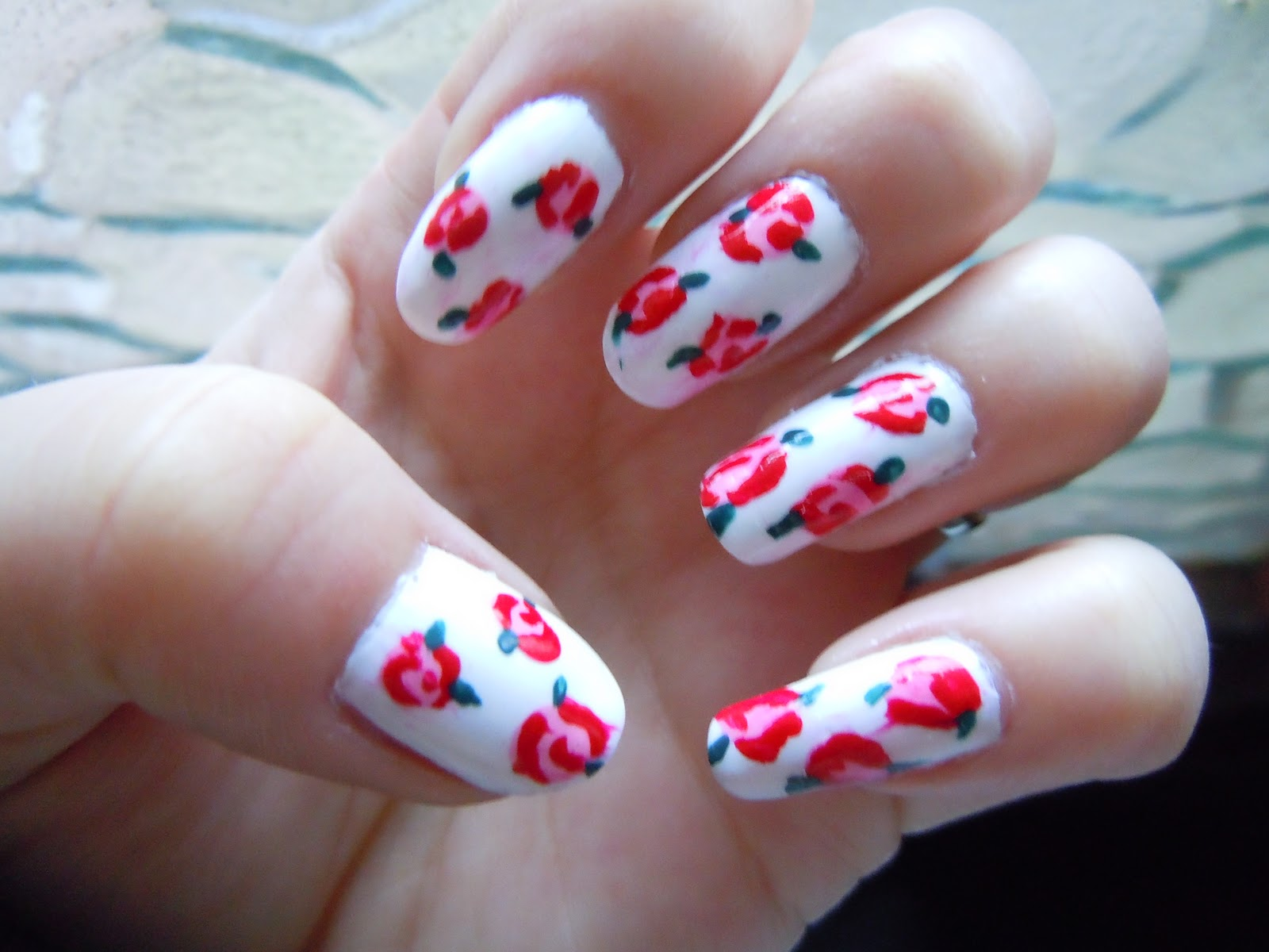 The Excellent Pink polka dots nail designs Digital Photography