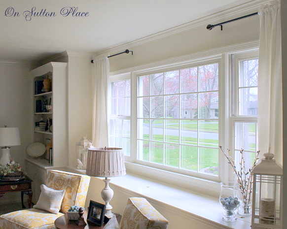 My paint colors on sutton place for Front window ideas home