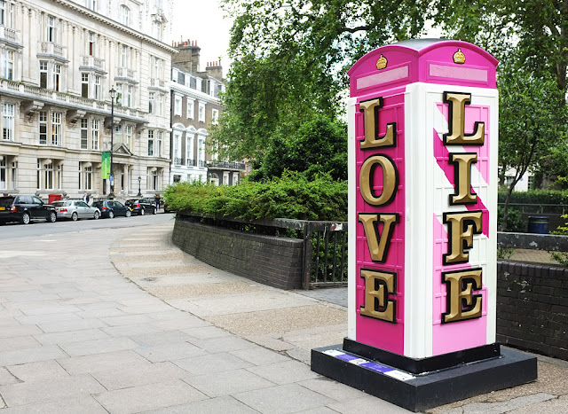 Love Life LOndon Telelphone box Photograph by Tim Irving