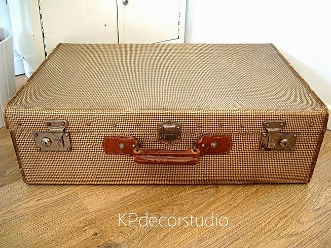 Kp tienda vintage online maleta de viaje antigua ref m26 for Maletas antiguas online