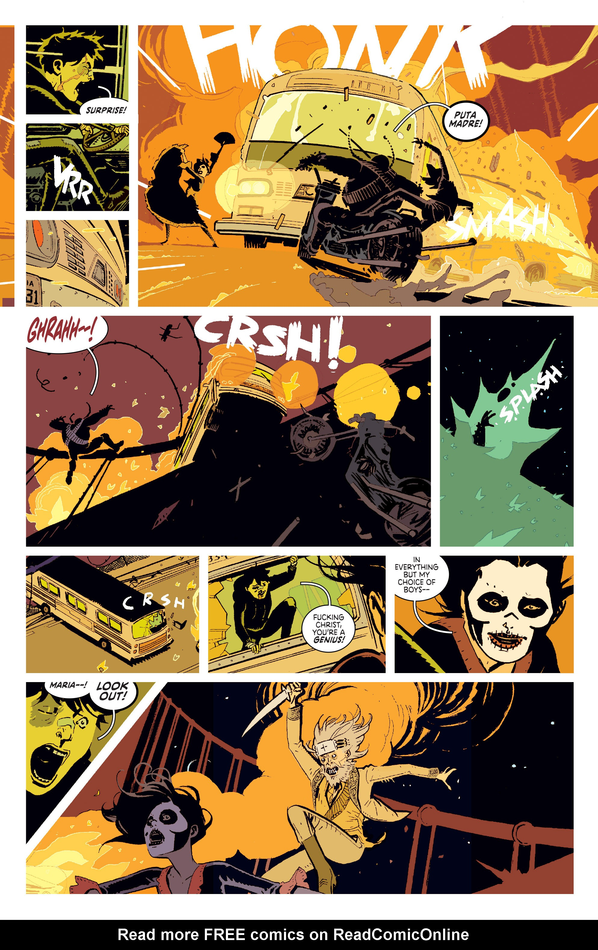 Read online Deadly Class comic -  Issue # _TPB 3 - 24