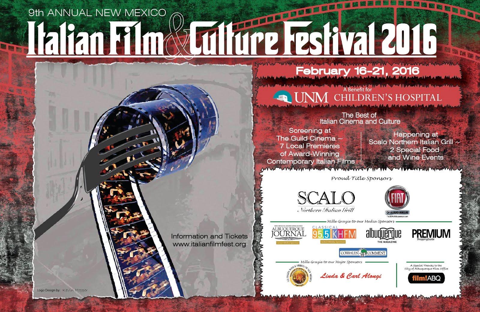 NEW MEXICO'S  Annual ITALIAN FILM + CULTURAL FESTIVAL