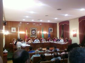 Pleno del 4 de Agosto. Presentación de la Secretaria.