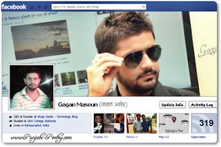 Gagan Masoun Facebook - Punjabi Boy