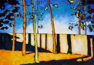 sunrise | painting | docker