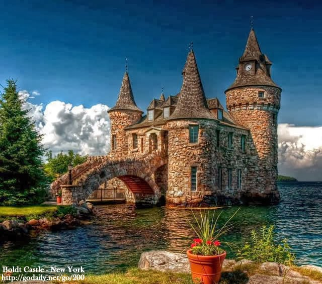 Boldt Castle, Heart Island, New York State, USA
