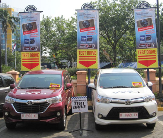 Test Drive Grand New Avanza dan Grand New Veloz
