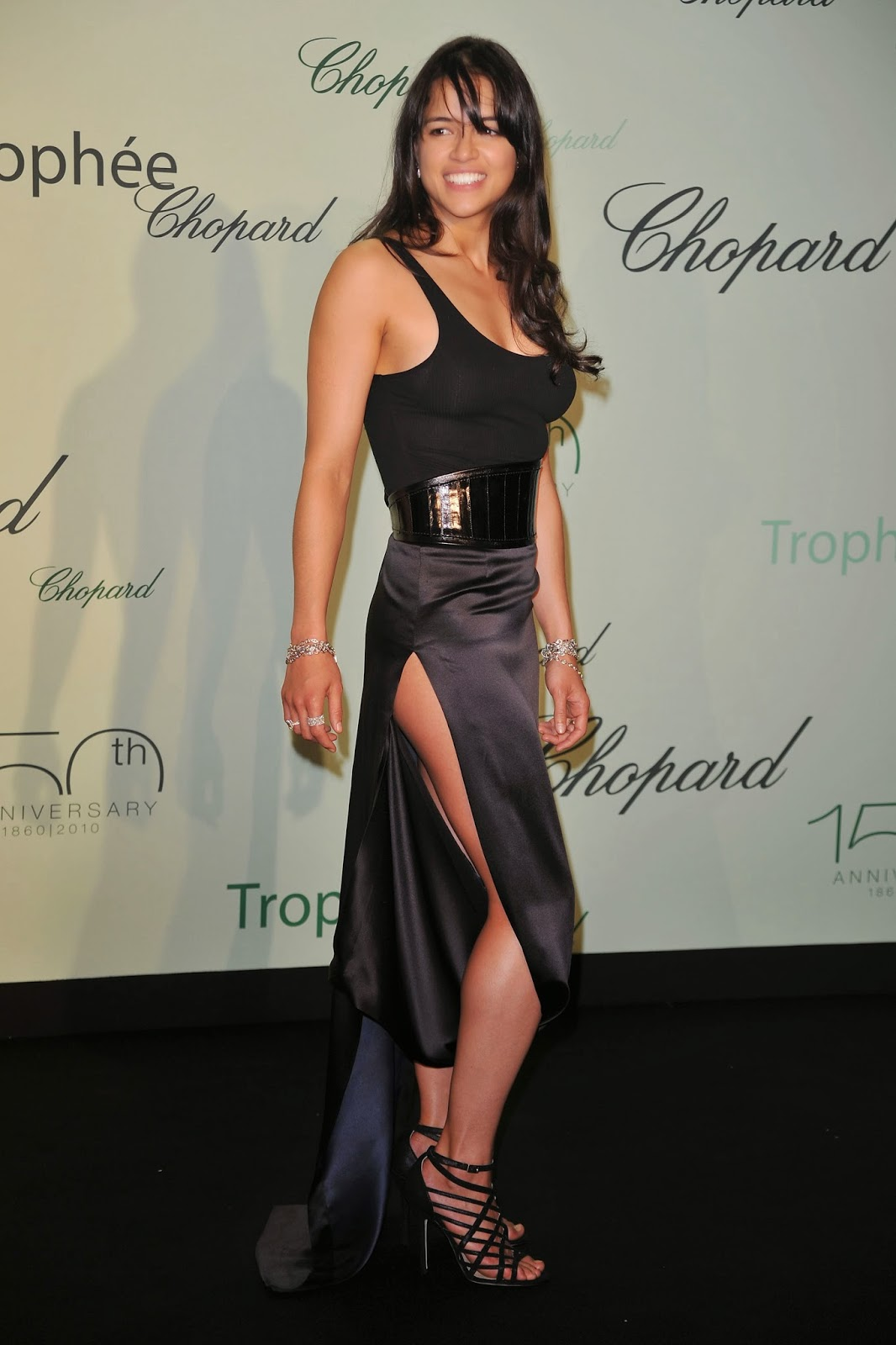 Michelle Rodriguez at event