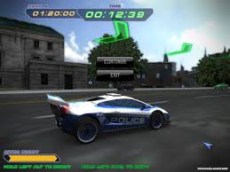 police super cars racing