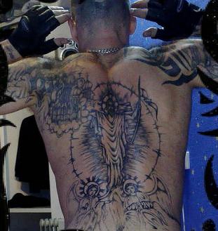 John tuohy 39 s russian mafia gangster photos of russian hoods for Russian mafia tattoos