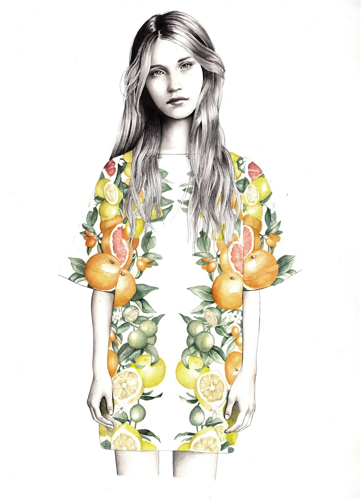 Hannah muller fashion illustrator
