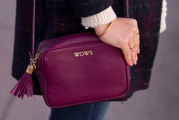 Tendencia en bolsos personalizados con letras iniciales