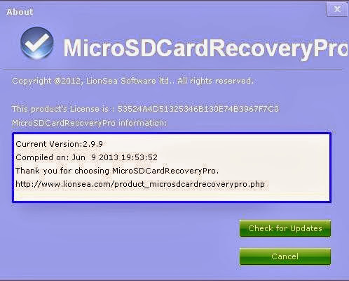 Image result for LionSea MicroSD Card Recovery