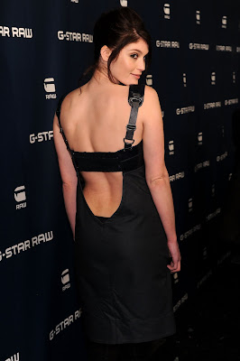 Gemma Arterton In A Backless Dress