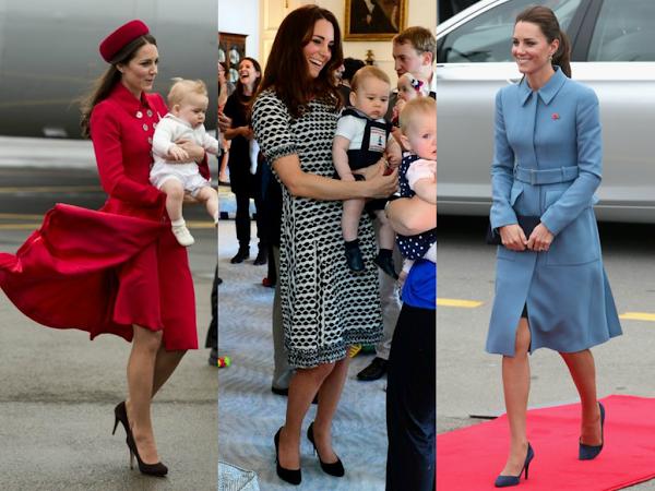 Duchess of Cambridge New Zeland Tour lookbook